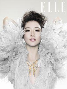 Lee Young Ae Elle Korea Magazine November 2012