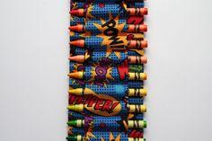 crayon ammo belt for kids  superhero by jordandene on Etsy, $28.00