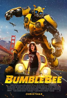 BUMBLEBEE MOVIE POSTER FILM A4 A3 ART PRINT CINEMA #2