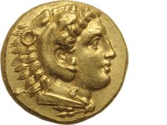 Mysia, Pergamum (Pergamon), Gold Stater, After 336 BC.This historically highly significant coin was a piece presumably of Herakles, illegitimate son of Alexander, who grew up in Pergamon. It is very likely that he commissioned the emission before his assassination in 309.