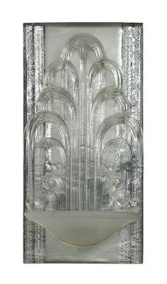 ART DECO WALL LIGHT | c. 1925 | René Lalique, Paris |