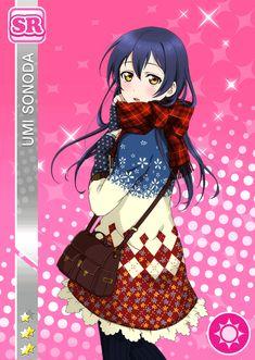 Umi Sonoda - Love Live [Cards]