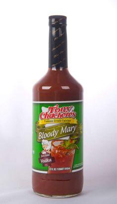 Advocate staff photo by TRAVIS SPRADLING -- Tony Chachere's  Bloody Mary Mix.