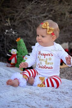 2b7bf1acb3117 77 Best Baby Christmas Outfits images | Christmas baby, Toddler ...