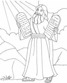 Bible - Moses (Ten Commandments) ...