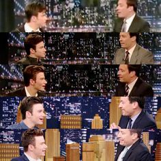 Chris Colfer on Jimmy Fallon through the years (2010-2015)