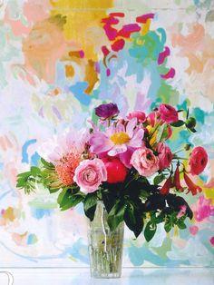 lajoiedesfleurs.fr Fleurs papier peint fleuri!