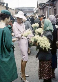 These remarkable images, from Life magazine, are taken from a Christian Dior fashion shoot in Soviet Russia in the late 1950s / early 1960s.