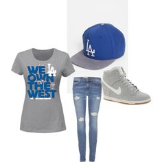 """""""Dodger outfit"""" on Polyvore"""