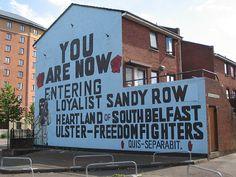 Belfast, Northern Ireland - Southern Side.