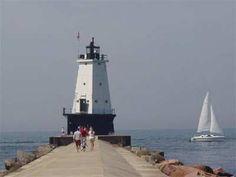 Ludington lighthouse, MI