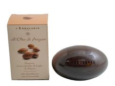 """Olio di Argan (Argan Oil) Perfumed Soap Bar by L'Erbolario Lodi by L'Erbolario Lodi. $8.00. The arid and hot climate of the lands of Morocco holds the ideal environment for the Argan Tree to thrive during its 150 to 200 year life span. The oil extracted from the Argan Nut is referred to as """"liquid gold"""". It is rare in the sense that 50 kilograms of fruit are needed to produce just 1 liter of oil, and it is precious due to its heavy content of fatty acids and vitamin E. It is an ..."""