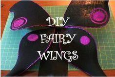 DIY Fairy Wings HOW-TO and BONUS Costume Essentialby threadbanger