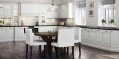 herskapelig kjøkken – Google Søk Kitchen Pantry, Home Kitchens, Kitchen Remodel, Table, Furniture, Design, Home Decor, Dreams, Google