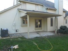 Porch Before Room Addition
