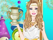 Free Online Girl Games, Barbie is going back in time to the  age of the ancient Greeks!  In Barbie Greek Princess Dressup, you'll have a chance to try on lots of clothes from the past!  See what type of Greek style looks best on Barbie!, #barbie #princess #dressup #girl