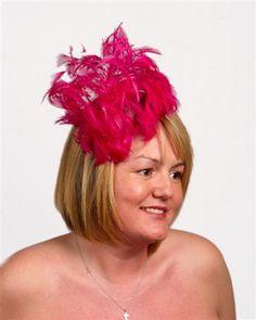 fascinator cocktail hat | 081 Pink/Fuchsia Fascinator/Cocktail Hat