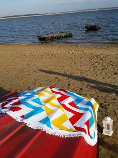 Round Beach Towel 'ILLUSION'  | Serviette Ronde 'ILLUSION' 150 cm