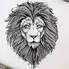 Resultado de imagem para leao com coroa tatoo