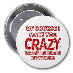 Recipe For Crazy Pins
