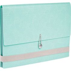 Accordion File  Buy a cheap one then store all of baby's important papers/mementos in it so they are in a handy place.