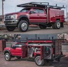 Rate this work truck 💩 or 🔥 Dually Trucks, Ford Pickup Trucks, Diesel Trucks, 6x6 Truck, Ford Work Trucks, Custom Truck Beds, Custom Trucks, Ford Super Duty, Cool Trucks