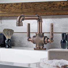 Estilo industrial para banheiros rústicosEuQueru.net