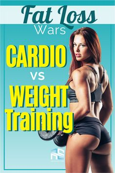 Wondering what's better - Cardio vs Weights For Fat Loss? Or can you lose weight by lifting weights only? This is what the research says is best for FAT loss. Cardio Vs Weight Training, Cardio For Fat Loss, Healthy Weight Loss, Weight Loss Tips, Mini Trampoline Workout, Fat Loss Diet, Ways To Lose Weight, Lose Belly Fat, Weights