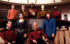 Star Trek: The Next Generation (TNG) focuses on the 24th century adventures of Captain Jean-Luc Picard aboard the U.S.S. Enterprise (NCC-1701-D).  Also it is the overall best incarnation.