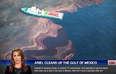 """Ariel Oil Spill"" / just a concept"