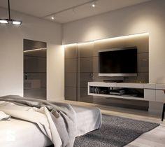 LK&1230 - wizualizacja sypialni - zdjęcie od LK&Projekt