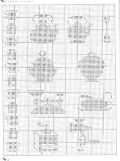 Many more little designs for cross stitch Cross Stitch Boarders, Cross Stitch Owl, Cross Stitch Kitchen, Cross Stitch Charts, Cross Stitch Designs, Cross Stitching, Cross Stitch Embroidery, Embroidery Patterns, Cross Stitch Patterns