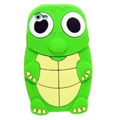 Amazon.com: Turtle Dinosaur Silicone 3D Case Cover for iPhone 4/4S - Green: Cell Phones