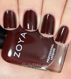 Zoya Claire   Fall 2014 Entice Collection   Peachy Polish