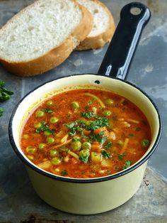 آشپزخانه کوچک من: سوپ ورمیشل