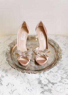 Valentino Wedding Shoes, Wedding Heels, Valentino Heels, Valentino Bridal, Wedding Blush, Valentino Couture, Sparkle Wedding, Wedding Bride, Rose Gold Wedding Shoes