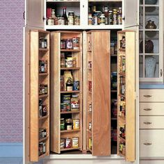 Hafele Swing Pull-Out Pantry in Chrome | { Storage and ...