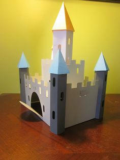 once upon a princess cricut 3D castle tutorial / hints @Sally Sawlivich !