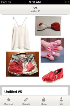 some crafty shorts! Cool Outfits, Summer Outfits, Fashion Outfits, Canada Eh, My Roots, Summer Clothing, Clothing Ideas, Christmas Holidays, Outfit Of The Day