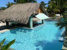 This is my happy place...the swim up bar at Couples Negril!