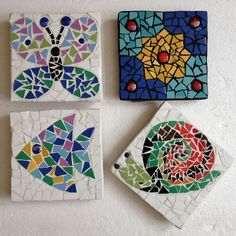 Mosaic Tile Art, Mosaic Tile Designs, Mosaic Patterns, Mosaic Glass, Mosaic Mirrors, Stained Glass, Mosaic Art Projects, Mosaic Crafts, Mosaics For Kids