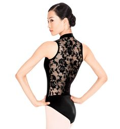 Gorgeous leo. I have it as a unitard. Wore it today actually! Just wish my boobs weren't so big cause it has a front zipper.