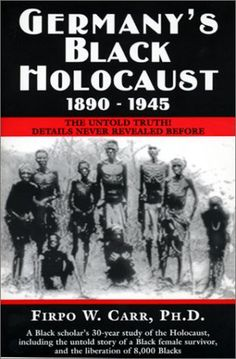 The Black Holocaust'how can i get a copy of this,..much searching..k must read this, right close to reading 'Yellow Star'