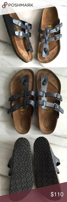 BIRKENSTOCK Sparta Gladiator Thong Sandals Size 42 Birkenstock Sparta Birko Flor Sandal. No longer sold on Birken website. Adjustable straps with buckle closure. Almost like new with very little wear. Birkenstock Shoes Sandals