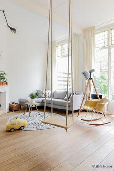 Binnenkijken in een bijzonder familie huis in Amsterdam-Zuid