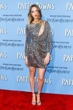 Cara Delevingne Paper Town premiere NY