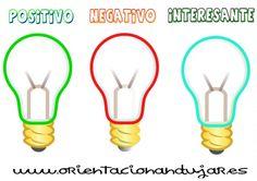 Aprender a pensar PNI para primaria con bombillas. Rutinas de pensamiento