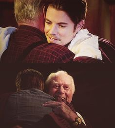 DALLAS TNT Daddy and son JR and John Ross Ewing