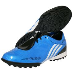Adidas F10 TRX TF blue, white and black. - Oct. 2009 / Sept. 2012