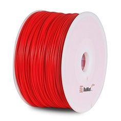 BuMat PLAFR-E Elite PLA Filament 1.75mm 1kg 2.2lb Printing Material Supply Spool for 3D Printer, Fluorescent Red - http://www.real3dprinter.com/3d-printing-materials/bumat-plafr-e-elite-pla-filament-1-75mm-1kg-2-2lb-printing-material-supply-spool-for-3d-printer-fluorescent-red/?utm_source=PN&utm_medium=Pinterest+Printer+Parts&utm_campaign=SNAP%2Bfrom%2BThe+3D+Printing+Website  #1.75Mm, #2.2Lb, #BuMat, #Elite, #Filament, #Fluorescent, #Material, #PLAFRE, #Printer, #Printing,